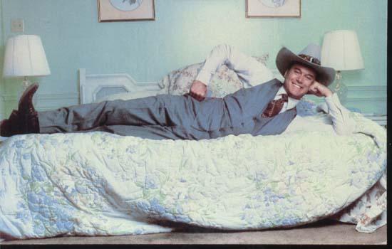JR Ewing, Larry Hagman 1981 personality PC