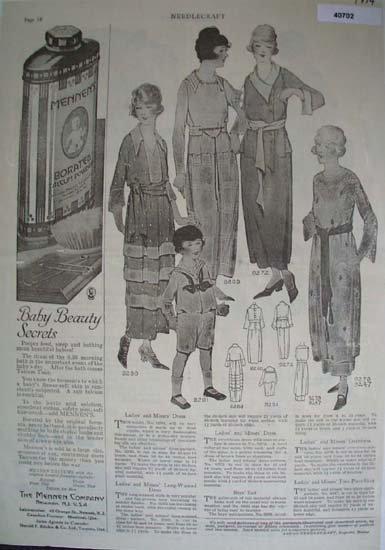 Needlecraft Womens Wear 1919 Article