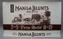 Manila Blunts Cigar Label