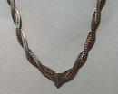 Art Deco Silver Tone Necklace