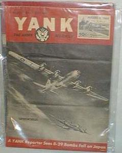 Yank the army weekly, Middle east edition, Aug. 3, 1944, Vol.2 no.9., features D-29