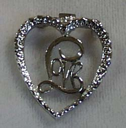 Gerry's Heart Love Pin