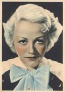 Wynne Gibson Film Star Tinted Photo Card 1930