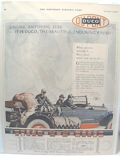 Duco Wax Ad 1925