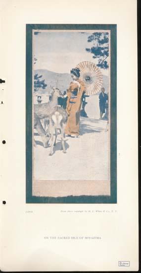Magazine Picture Isle of Miyazima,Japan 1907