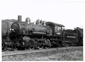 RR Train Photo NYC #6891 in Jackson Mich 1954