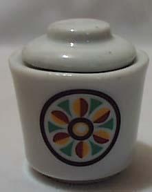 Little Folk Art Mini Jar Or Child Sugar Bowl