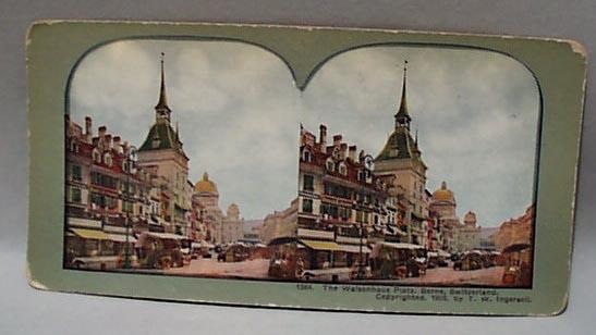 Stereo Card #1364 The Walsenhaus Platz Berne