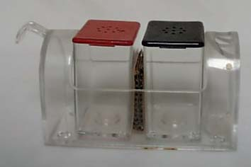 Mail Box S&P Shakers Clear Acrylic