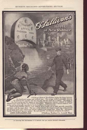 O'Sullivan Rubber Co. Ad around 1900