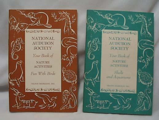 National Audubon 1953 Activity Book On Birds