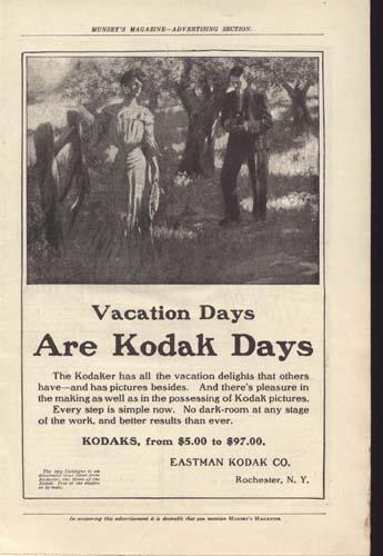 Eastman Kodak Ad around 1900