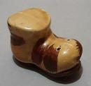 Shoe Salt Shaker 2 Tone Brown