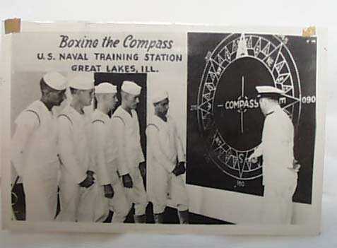 WWII Navy PC Compass 1943 Great Lakes IL
