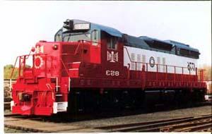 RR Train Bessemer & Lake Erie #853 postcard