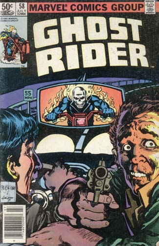 Marvel Comics Ghost Rider July 1981