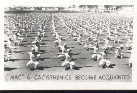 WWII Navy Photo Mac Progress in Calisthenics