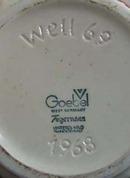 West Goebel Tegernses Covered Bowl