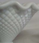 Westmoreland English Hobnail Milk Glass Vase