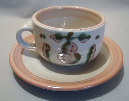 M.A. Hadleys Cup and Saucer