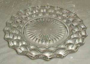 Fostoria American Salad Plate in Crystal
