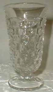 Fostoria American Low Footed Goblet, Crystal