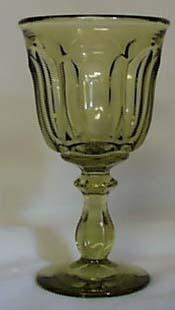 Imperial Williamsburg Wine Goblet, Verde
