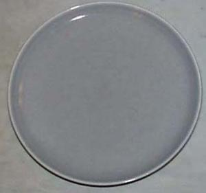 Russel Wright Grey Dinner Plate, Mint condition