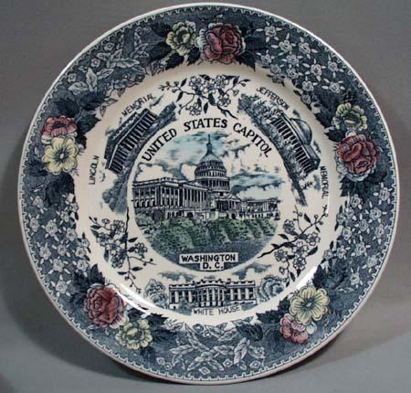 Older Capitol Washington D.C Plate