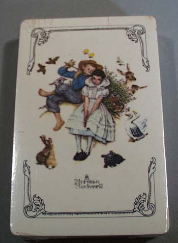 Norman Rockwell deck of cards by Trump USA