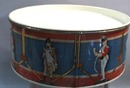 Candy Tin looks like toy drum with soldiers