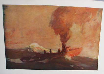 1908 On the way to the Philippines by Henry Reuterdahl, original print