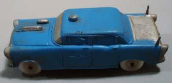 Auburn Rubber Police Car