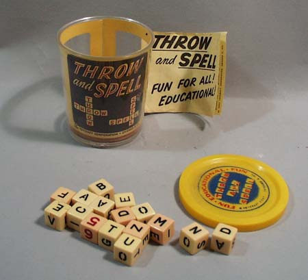 1957 Toycraft Corporation Throw and Spell