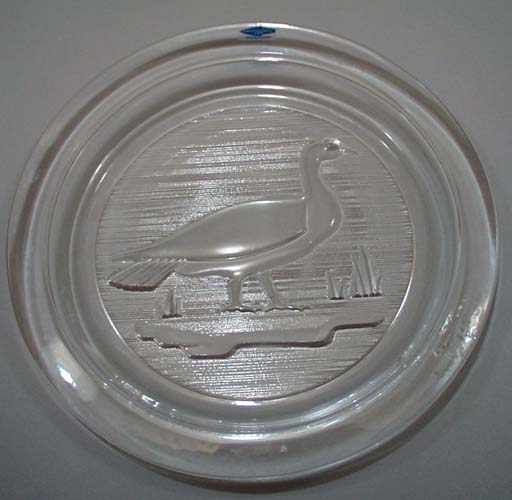 Canadian Goose Glass Plate