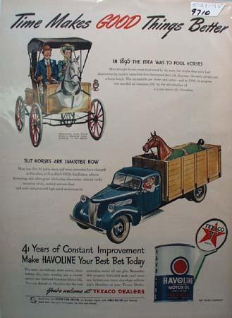 Shell X-100 Motor Oil Ad 1949