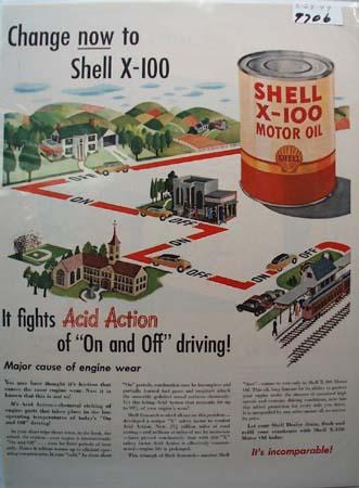 Havoline 41 years Motor Oil Ad 1945