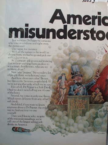 Dr Pepper America's Most Misunderstood Drink 1970