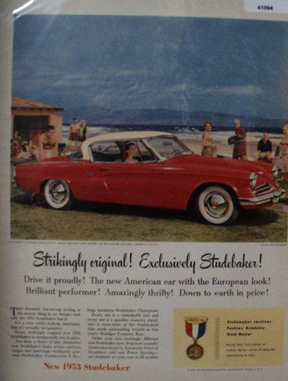 Studebaker Commander 1953 Ad