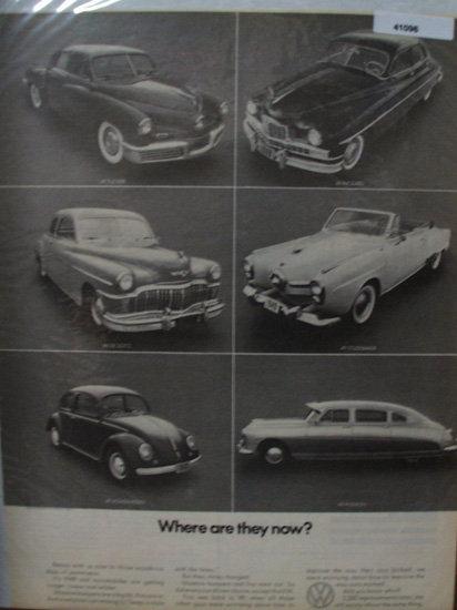 Volkswagen 1949 Ad