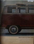 Volkswagen Station Wagon 1964 Ad