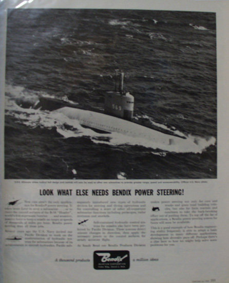 Bendix Aviation Corporation 1958 Ad