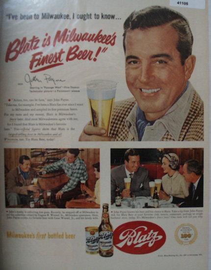 Blatz Brewing Co. 1951 Ad