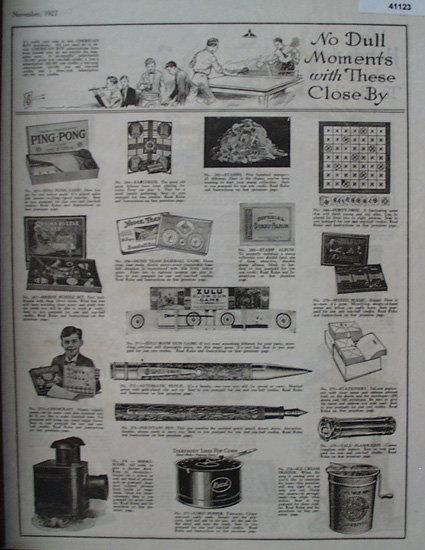 American Boy Magazine Subscription Prizes 1927 Ad