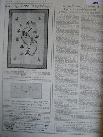 Needlecraft Co. 1940 Ad