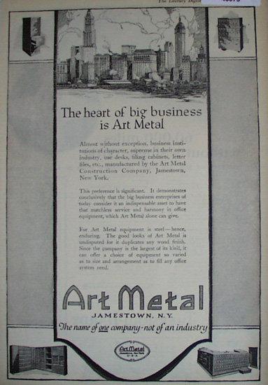Art Metal 1920 Ad