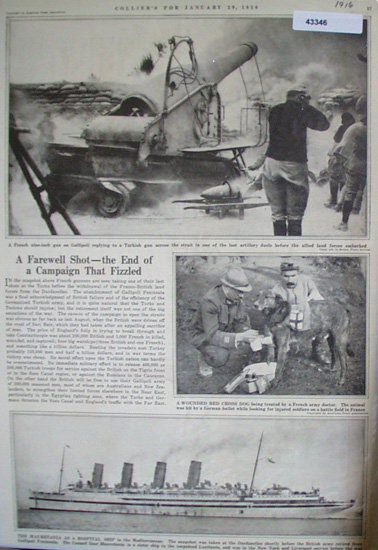 A Farewell Shot 1916 Article