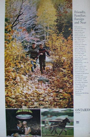 Ontario Canada 1967 Article