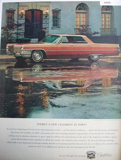Cadillac 1964 Car Ad