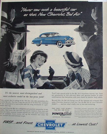 Chevrolet Bel Air 1950 Car.
